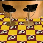 Washington Redskins Carpet Team Tiles - 18'' x 18'' Tiles - Set of 20 [8547-FS-FAN]