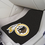 Washington Redskins Carpet Car Mat 2 Pc 18'' x 27'' [5869-FS-FAN]