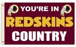 Washington Redskins 'Country' 3' X 5' Flag w/ Grommets [94107B-FS-BSI]