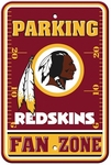Washington Redskins Plastic Parking Sign - Fan Zone [92207-FS-BSI]