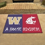 Washington - Washington State House Divided Mat 34'' x 45'' [7638-FS-FAN]