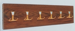 WAW 129 Hook Panel with Medium Oak Finish [WAW129-2-CLA]
