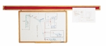 WDR Wooden Display Rail [WDR83-2-CLA]