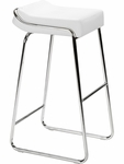 Wedge Barstool in White [300042-FS-ZUO]