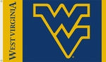 West Virginia Mountaineers 3' X 5' Flag with Grommets [95012-FS-BSI]