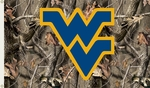 West Virginia Mountaineers 3' X 5' Flag with Grommets - Realtree Camo Background [95412-FS-BSI]