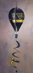 West Virginia Mountaineers Hot Air Balloon Spinner [69012-FS-BSI]