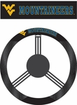 West Virginia Mountaineers Poly-Suede Steering Wheel Cover [58573-FS-BSI]