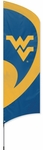 West Virginia Mountaineers Tall Team Flag w/ Pole [TTWV-FS-PAI]