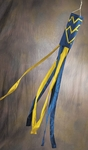 West Virginia Mountaineers Wind Sock [79012-FS-BSI]