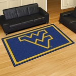 West Virginia University 60'' x 96'' Rug [11930-FS-FAN]