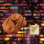 West Virginia University Fan Brands 2'' x 2'' [10125-FS-FAN]