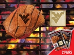 West Virginia University Fanbrand 2 Pack [13140-FS-FAN]