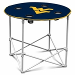 West Virginia University Team Logo Round Folding Table [239-31-FS-LGO]
