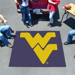 West Virginia University Tailgater Mat 60'' x 72'' [2464-FS-FAN]