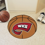 Western Kentucky University Basketball Mat 27'' Diameter [1331-FS-FAN]