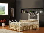 Westfield Metal Bed - Full, Rails, Nightstand, Dresser, Mirror, and Chest [1354FM5SET-FS-HILL]