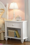 Westfield Classic Wood 52''W x 30''H Cottage Style Nightstand - Off White [1354-772-FS-HILL]