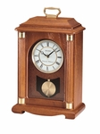 Westminster/Whittington Mantel Clock Chime with Pendulum [QXJ114BLH-FS-SEI]