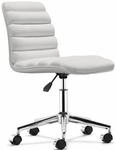 Admire Office Chair in White [205711-FS-ZUO]