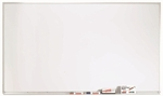 White Porcelain Marker Board with Aluminum Frame - 36''H x 60''W [WDS3660-AA]