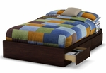 Willow Collection Full Mates Bed in Havana [3439211-FS-SS]
