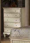 Wilshire Solid Wood 60.25''W x 45.5''H Chest - Antique White [1172-785-FS-HILL]