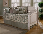 Wilshire Solid Wood Daybed Set with Suspension Deck - Antique White [1172DBLH-FS-HILL]