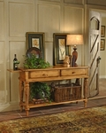 Wilshire 18''W x 60''H Wooden Sideboard with Multiple Storage - Antique Pine [4507SB-FS-HILL]