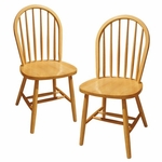 Windsor Chair in Beechwood-Set of 2 [89999-FS-WWT]