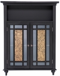 Windsor Double Door Floor Cabinet in Dark Espresso [ELG-534-FS-EHF]