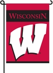 Wisconsin Badgers 2-Sided Garden Flag [83020-FS-BSI]