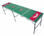 Wisconsin Badgers 2'x8' Tailgate Table [TPC-D-WISC-FS-TT]