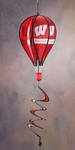 Wisconsin Badgers Hot Air Balloon Spinner [69020-FS-BSI]