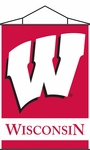 Wisconsin Badgers Indoor Banner Scroll [87020-FS-BSI]