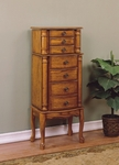 Woodland Oak Jewelry Armoire [604-315-FS-PO]