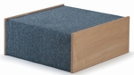 Carpeted Birch Woodscape 20'' Platform [WB1470-FS-WBR]