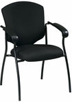 Work Smart Distinctive Executive Guest Chair with Steel Frame [41575-FS-OS]