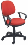 Workmate 22.5'' W x 19.75'' D x 33'' H Adjustable Height Mid-Back Chair with Small Seat [SS-20551-FS-EOF]