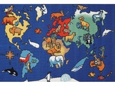 World Animals Carpet