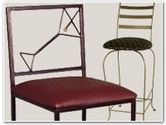 Wrought Iron Barstools
