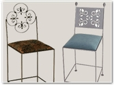 Wrought Iron Counter Height Stools