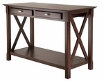 Xola Console Table with 2 Drawers [40544-FS-WWT]