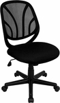 Y-GO Chair™ Mid-Back Black Mesh Swivel Task Chair [GO-WY-05-GG]