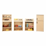 Young Time® Complete Play Kitchen Set [7080Y-JON]