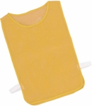 Youth Nylon Mesh Pinnie in Gold - Set of 12 [MPYGD-FS-CHS]