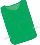 Youth Nylon Mesh Pinnie in Kelly - Set of 12 [MPYGN-FS-CHS]