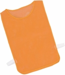 Youth Nylon Mesh Pinnie in Orange - Set of 12 [MPYOR-FS-CHS]