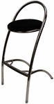 Z Barstool with Black Seat [BSZS-BLACK-CSP]