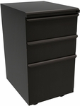 Zapf® 19'' D Mobile Pedestal Box Box File - Dark Neutral [ZSMPBBF19-DT-FS-MVL]